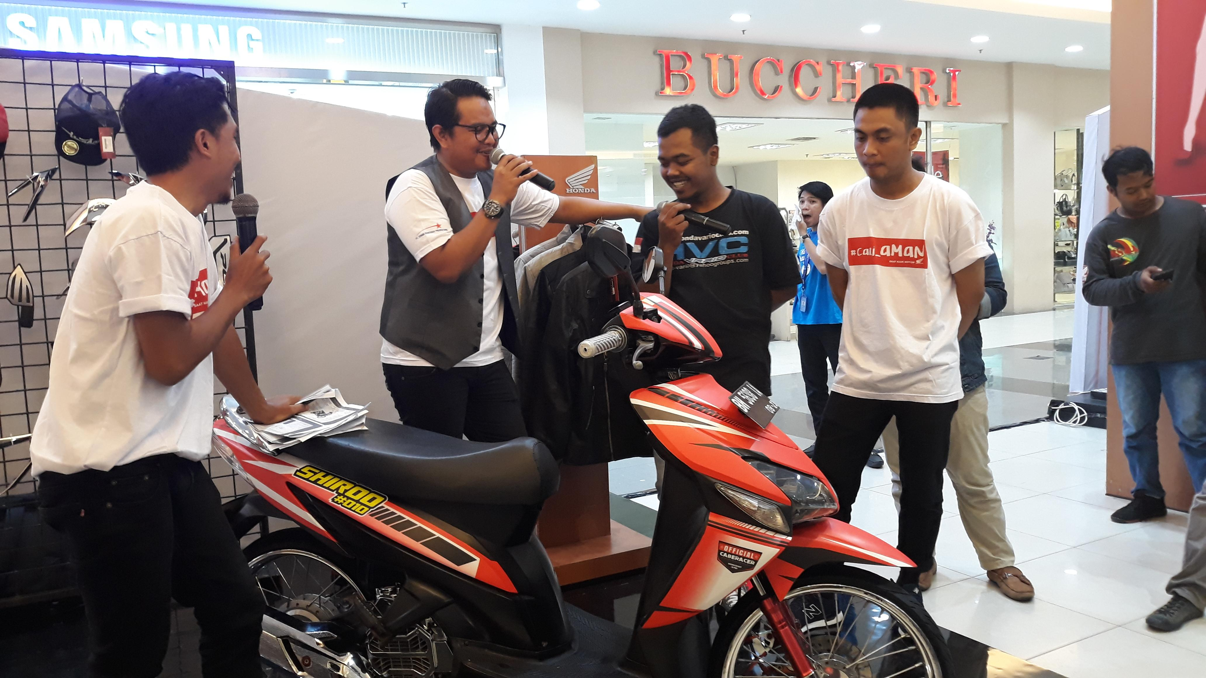 Honda community vario custom clinic jadi wadah sharing modifikasi motor vario di jambi